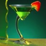 green martini cropped